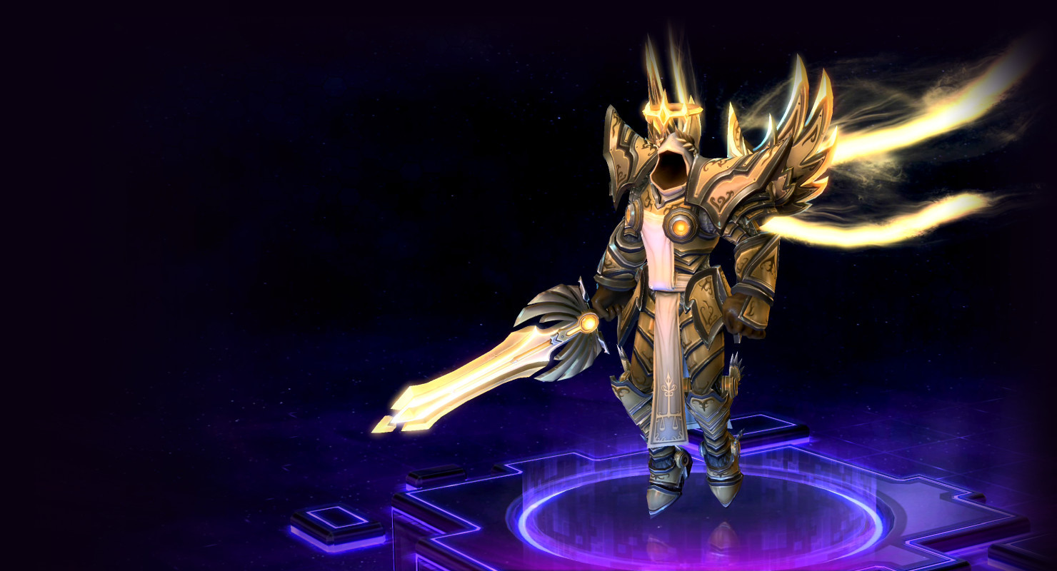 Tyrael Holy Ground Build On Psionic Storm Heroes Of The Storm Instantly share code, notes, and snippets. build on psionic storm heroes