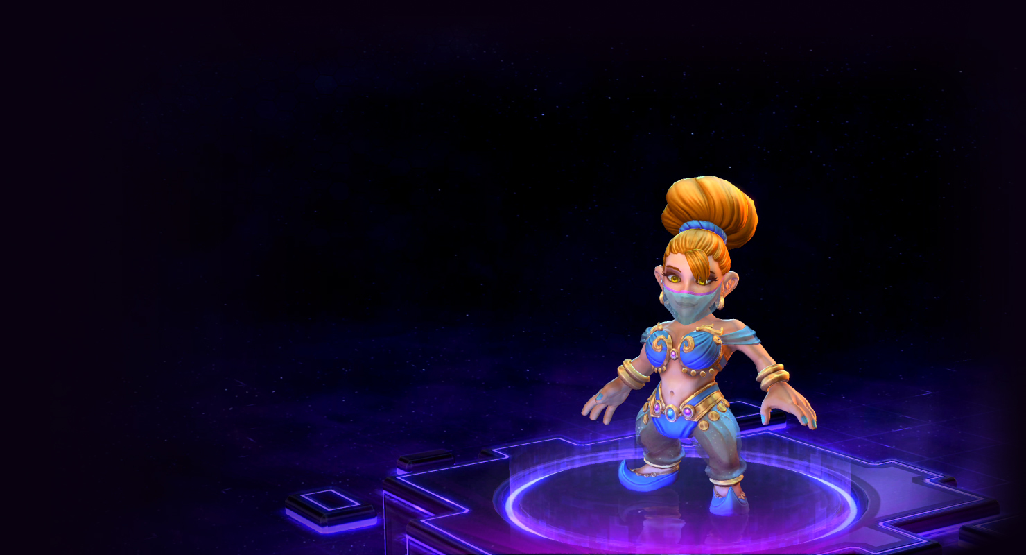 Skin Chromie: Dream Genie Chromie