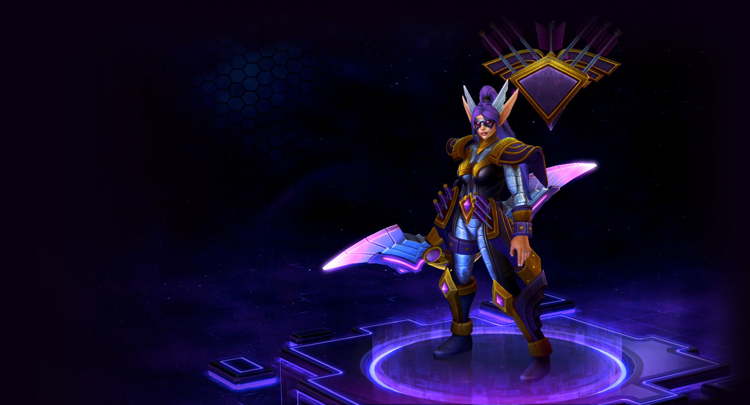 Skin Tyrande: Eagle Eye Tyrande