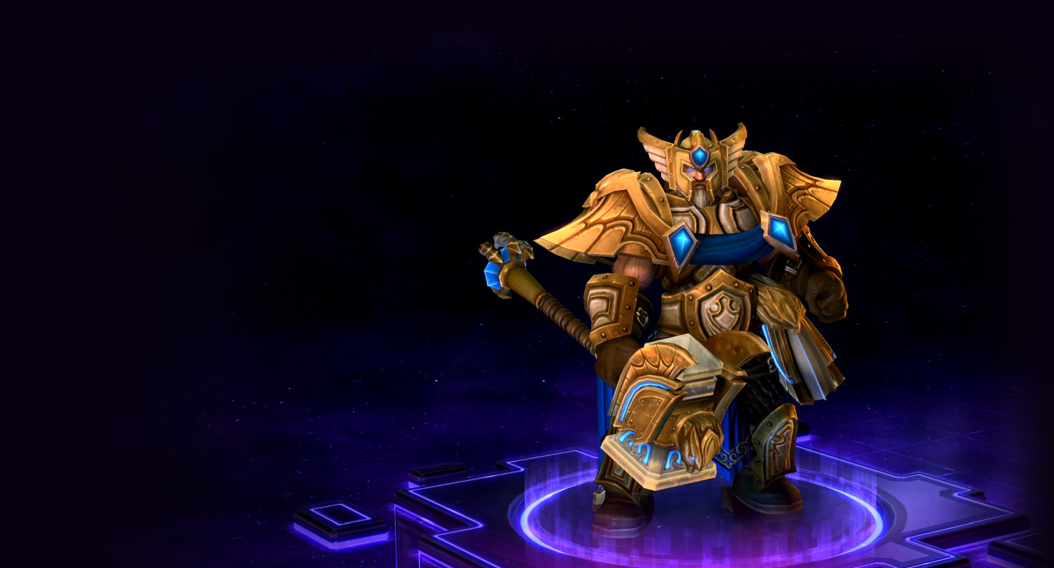 Skin Uther: Grand Marshal Uther