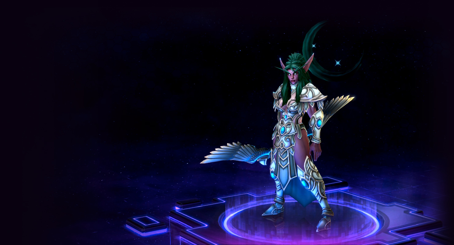 Skin Tyrande: High Priestess of Elune