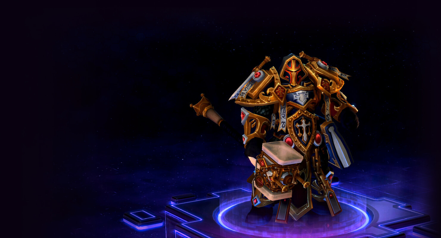 Skin Uther: Judgment Uther