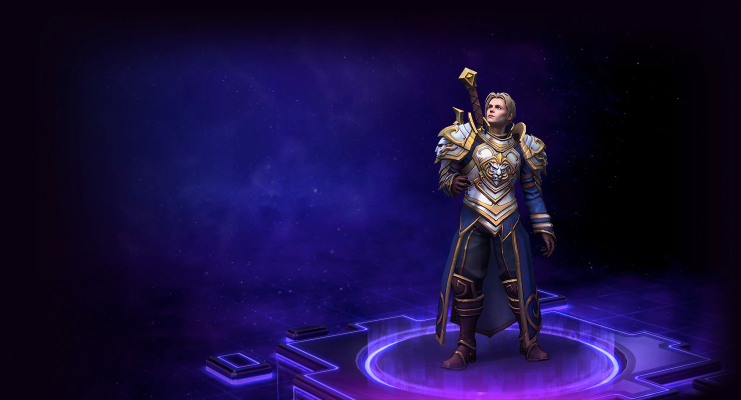 Skin Anduin: King of Stormwind