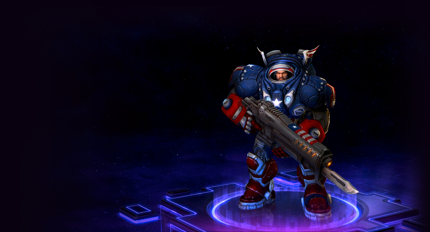 Skin Raynor: Stars and Stripes Raynor