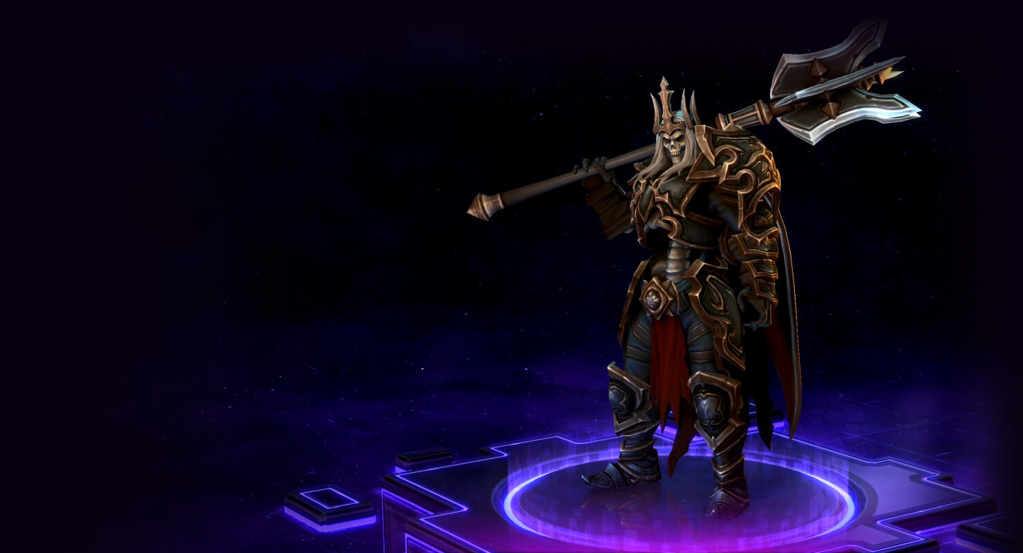 Skin Leoric: The Skeleton King