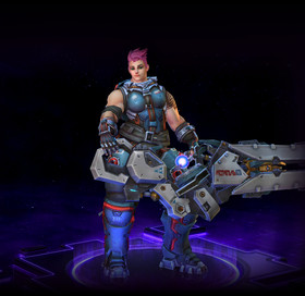 Skin Zarya: Defender of Russia