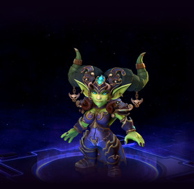 Skin Chromie: Fel Queen Chromie