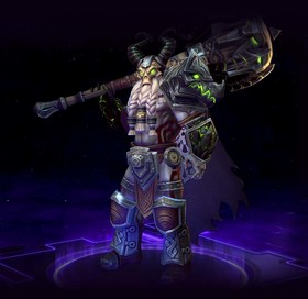 Skin Leoric: God-King Leoric