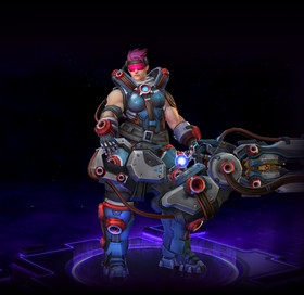 Skin Zarya: High Gravity Zarya