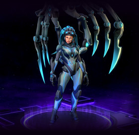 Skin Kerrigan: Queen of Ghosts Kerrigan