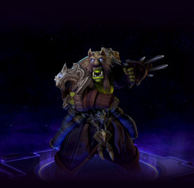 Skin Rehgar: Shaman of the Earthen Ring