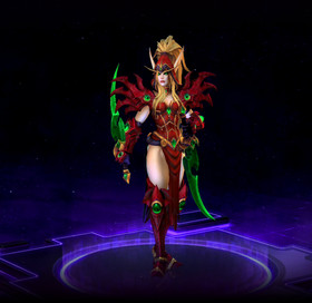Skin Valeera: Shadow of the Uncrowned