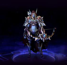 Skin Sylvanas: The Banshee Queen