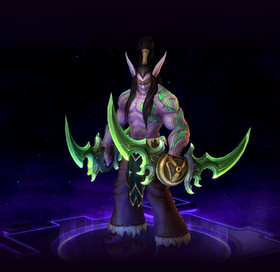 Skin Illidan: The Betrayer