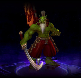 Skin Samuro: The Blademaster