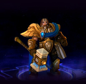 Skin Uther: The Lightbringer