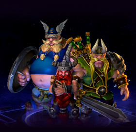 Skin The Lost Vikings: Triple Trouble