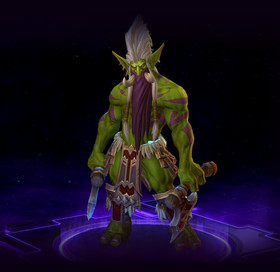 Skin Zul'jin: Warlord of the Amani