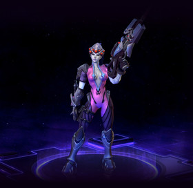 Skin Nova: Widowmaker Nova