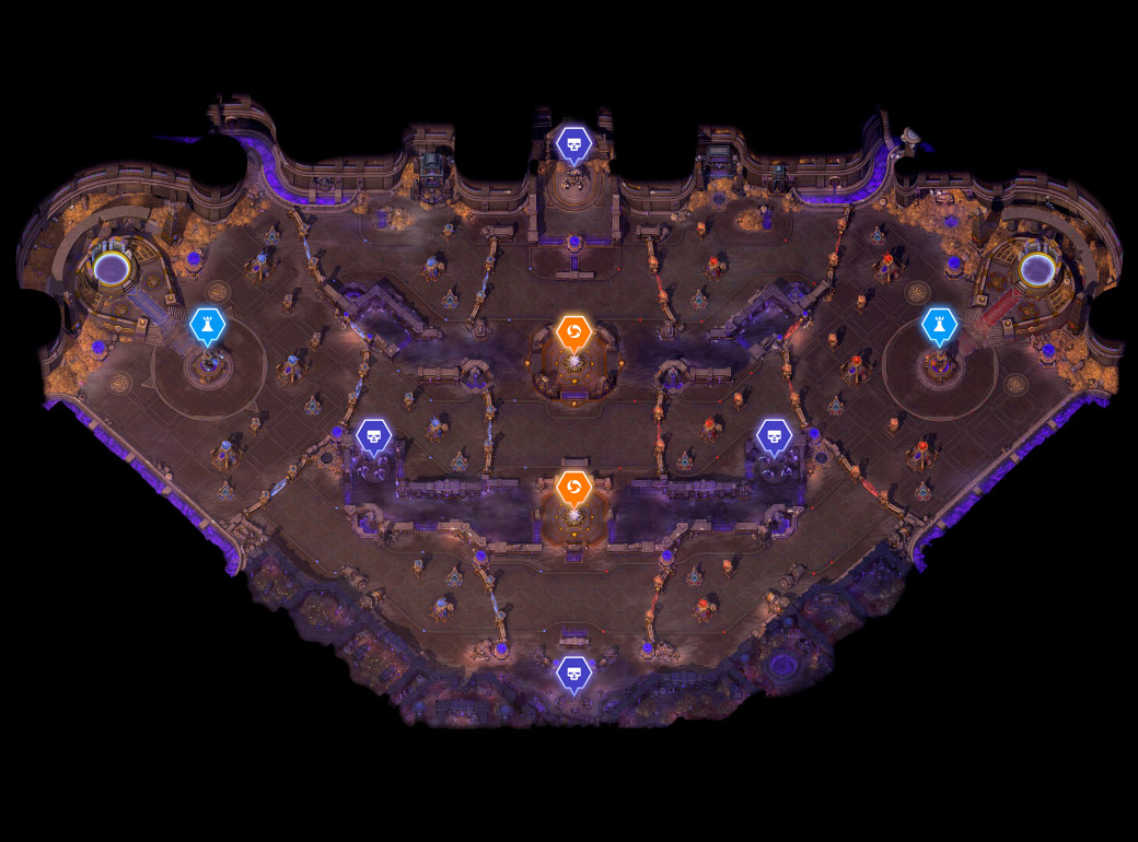 Champ de bataille : Tombe de la Reine Araignée