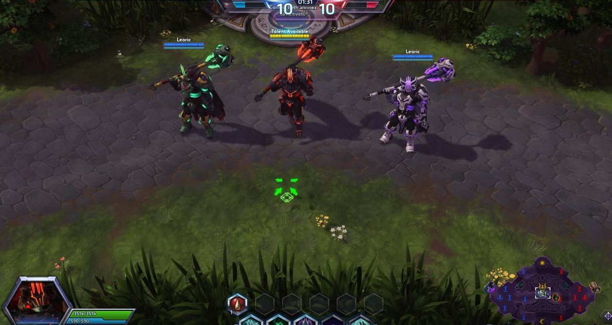 Aper u du mod le space lord de l oric en vid o psionic - Heroes of the storm space lord leoric ...