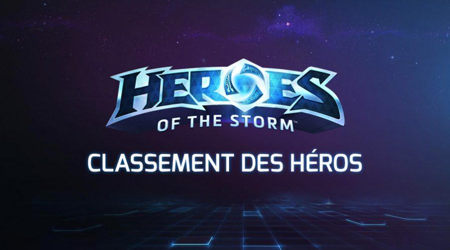 Psionic Storm Classement des héros